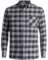 Quiksilver | Motherfly Long Sleeve Shirt | Lyst