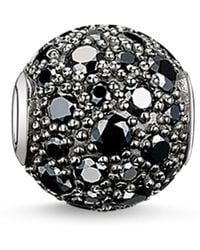 Thomas Sabo Black Scarab Zirconia Bead