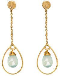 Juvi Designs - Gold Vermeil Boho Swing Me Earring - Lyst