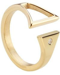 Storm | Rohaise Gold Ring | Lyst
