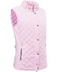 Abacus - Winston Quilted Gilet - Lyst