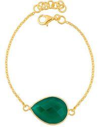 Juvi Designs - Gold Vermeil Egadi Teardrop Bracelet - Lyst