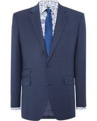 New & Lingwood - Eastleigh Check Suit Jacket - Lyst