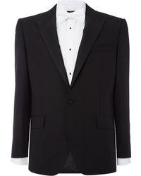 New & Lingwood - Marlow Peak Lapel Dinner Suit Jacket - Lyst