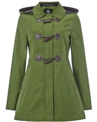 Halifax Traders - Cotton Hooded Toggle Jacket - Lyst