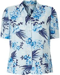 Eastex - Pansy Palm Blouse - Lyst