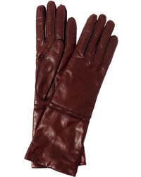 Max Mara - Palio Long Leather Gloves - Lyst