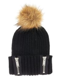 Label Lab - Zip Hat - Lyst