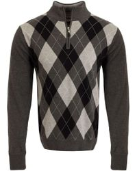 Cutter & Buck - Argyle Windblock Jumper - Lyst