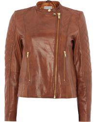 Inwear - Leather Jacket - Lyst