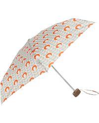 Orla Kiely - Tiny-2 Flower Oval Stem Umbrella - Lyst