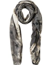 Soaked In Luxury | Star Print Scarf | Lyst