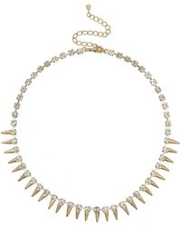 Mikey - Spike Necklace - Lyst