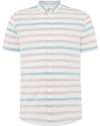 Only & Sons - Men's Clain Striped Shirt - Lyst