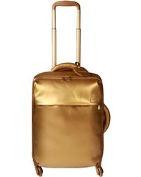 Lipault - Miss Plume Gold Cabin 55cm Spinner Suitcase - Lyst