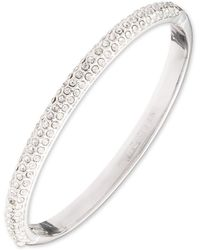 Anne Klein - Box Set Pave Bangle - Lyst