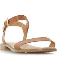 Dune - Natallia Flat Sandals - Lyst