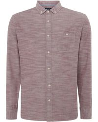 Criminal - Men's Denver Oxford Long Sleeve Shirt - Lyst