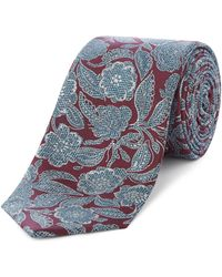 Ted Baker - Maleny Detailed Floral Print Tie - Lyst