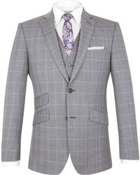 Alexandre Of England | Vincent Tailored Fit Check Jacket | Lyst