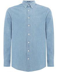 GANT - Men's Ecofriendly Denim Shirt - Lyst