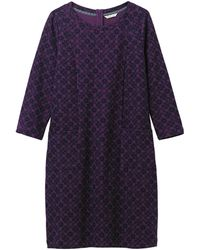 66bb3329ef8 White Stuff - Brooke Textured Jersey Dress - Lyst