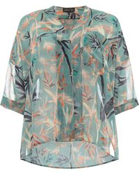 Label Lab - Bamboo Print Avery Blouse - Lyst