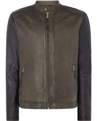 Pepe Jeans - Men's Vincent Pepe Leather Jacket - Lyst