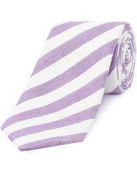 Chester Barrie - Stripe Tie - Lyst