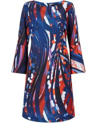 James Lakeland - Printed Flute Sleeve Dress - Lyst
