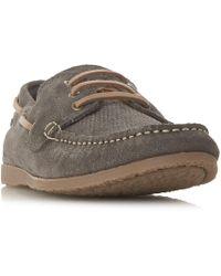 Bertie | Battalion Classic Boat Shoes | Lyst