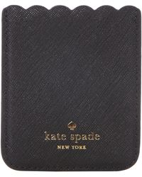 Kate Spade - Scallop Phone Sticker Pocket - Lyst