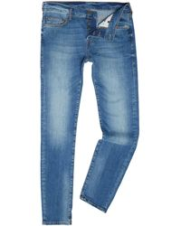 True Religion - Rocco Denim Lapis Light Wash Slim Fit Jeans - Lyst