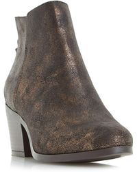 Dune - Pretty Zip Back Ankle Boots - Lyst