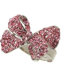 Mikey - Bow Ring - Lyst