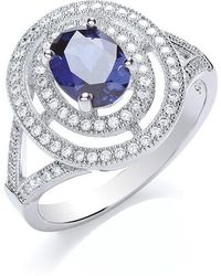 Bouton - Oval Surround Ring - Lyst