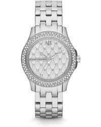 Armani Exchange - Ax5215 Ladies Bracelet Watch - Lyst