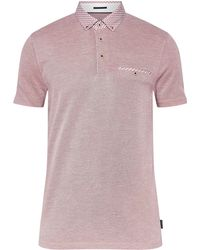 Ted Baker - Men's Tizu Oxford Polo Shirt - Lyst