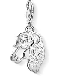 Thomas Sabo - Charm Club Unicorn Charm Pendant - Lyst