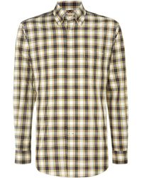Tm Lewin - Check Classic Fit Long Sleeve Button Down Shirt - Lyst