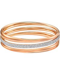 Swarovski - Exact Bangle - Lyst