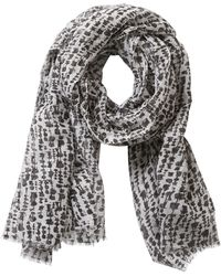 Betty & Co. - Graphic Print Scarf - Lyst