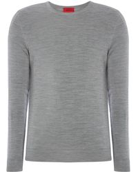HUGO - Men's San Lorenzo Crew Neck Jumper - Lyst