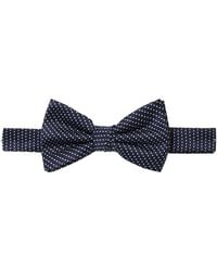Label Lab - Rance Woven Polka Dot Bow Tie - Lyst