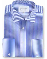 Double Two - Paradigm King Size Double Cuff Pure Cotton Shirt - Lyst