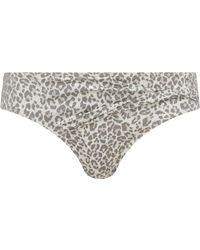 Biba - Leopard Twist Bikini Brief - Lyst