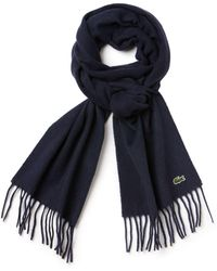 Lacoste - Cashmere Mix Scarf - Lyst