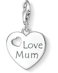 Thomas Sabo - Charm Club Love Mum Pendant - Lyst
