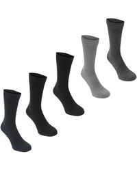 Jack & Jones Jens 5 Pack Socks - Black