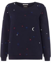 Maison Scotch - Sweater With All Over Artwork - Lyst